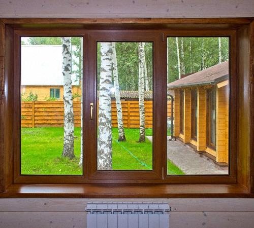Ламинированные пластиковые окна: описание, фото, видео